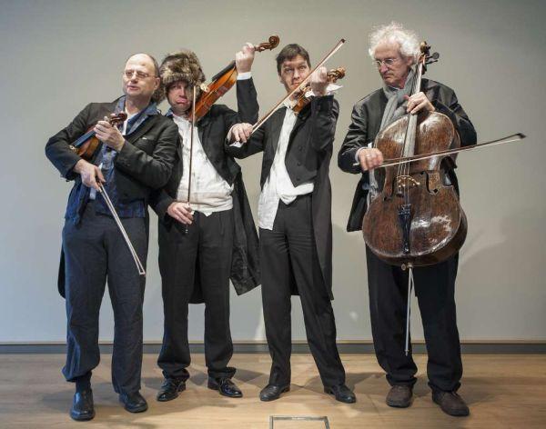 Hindemith-Quartett (c) HMF, Petra Welzel