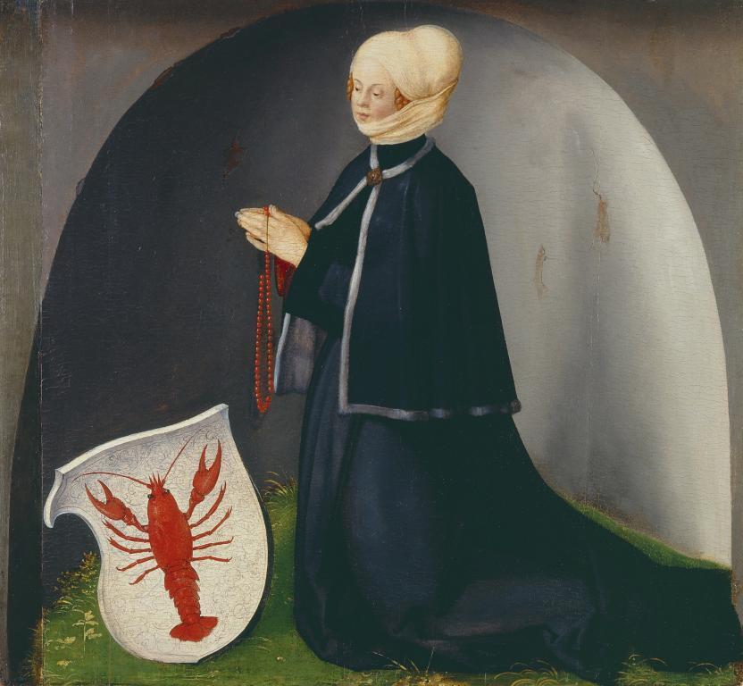 Porträt der Stifterin Katharina Heller, Albrecht Dürer, Heller-Altar © HMF, Horst Ziegenfusz