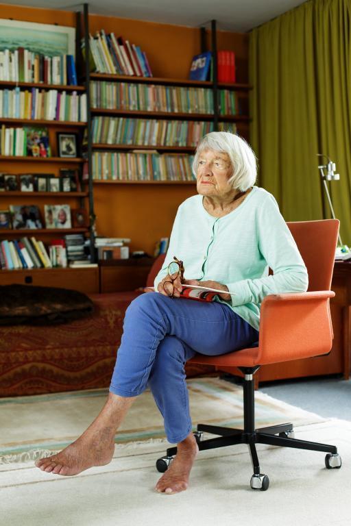 Porträt von Maria Frisé für die Bibliothek der Generationen © HMF, Stefanie Kösling