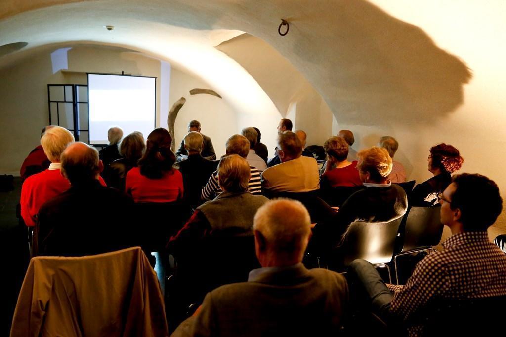 Vortrag Numismatische Gesellschaft im Bernusgewölbe des HMF (c) Stefanie Kösling