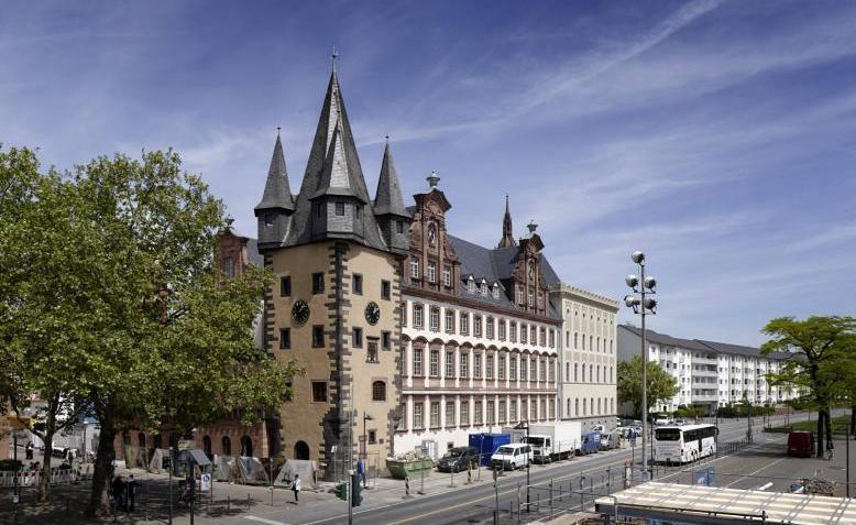 Ansicht vom Altbau des Historischen Museum Frankfurt