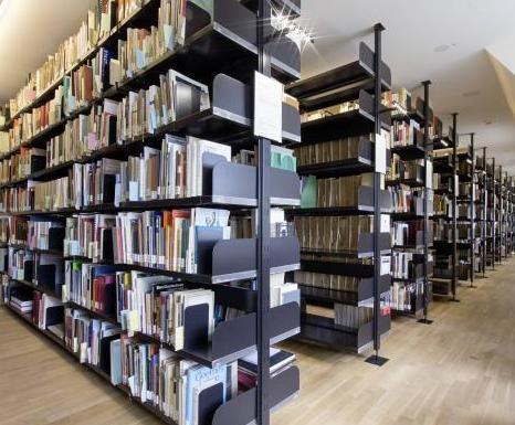 Die Bibliothek des Historischen Museum Frankfurt im Saalhof